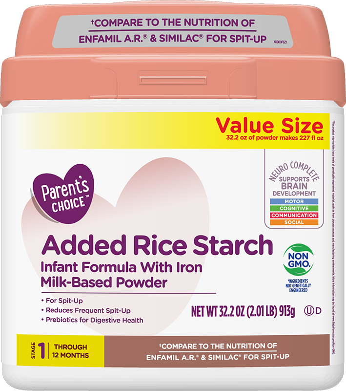 Parent's Choice Added Rice Formula