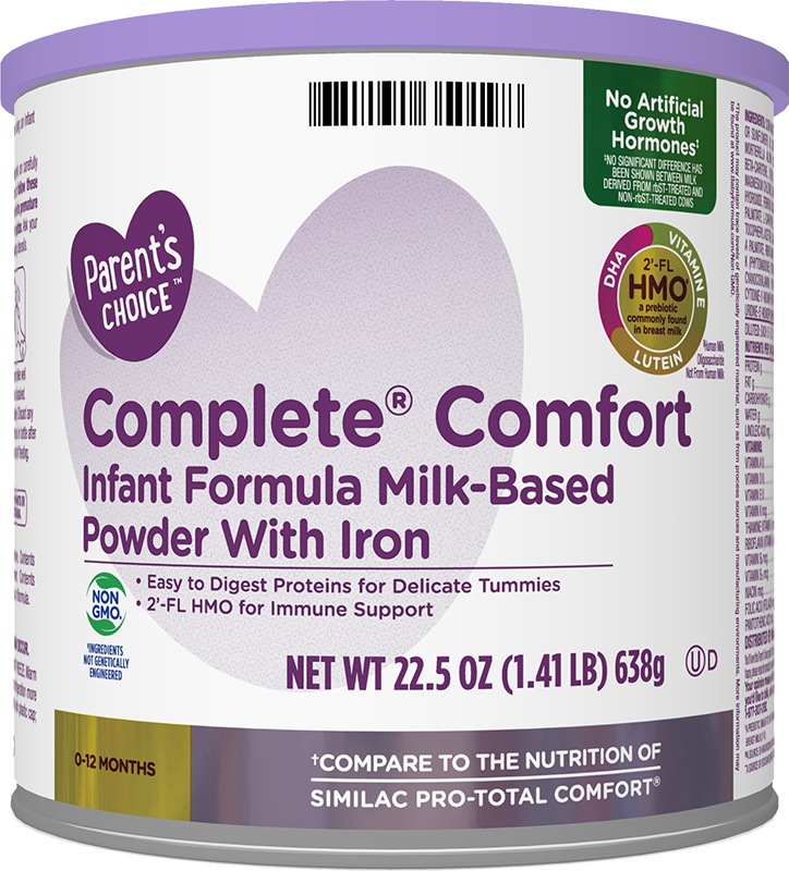 Parent's Choice Complete Comfort Formula