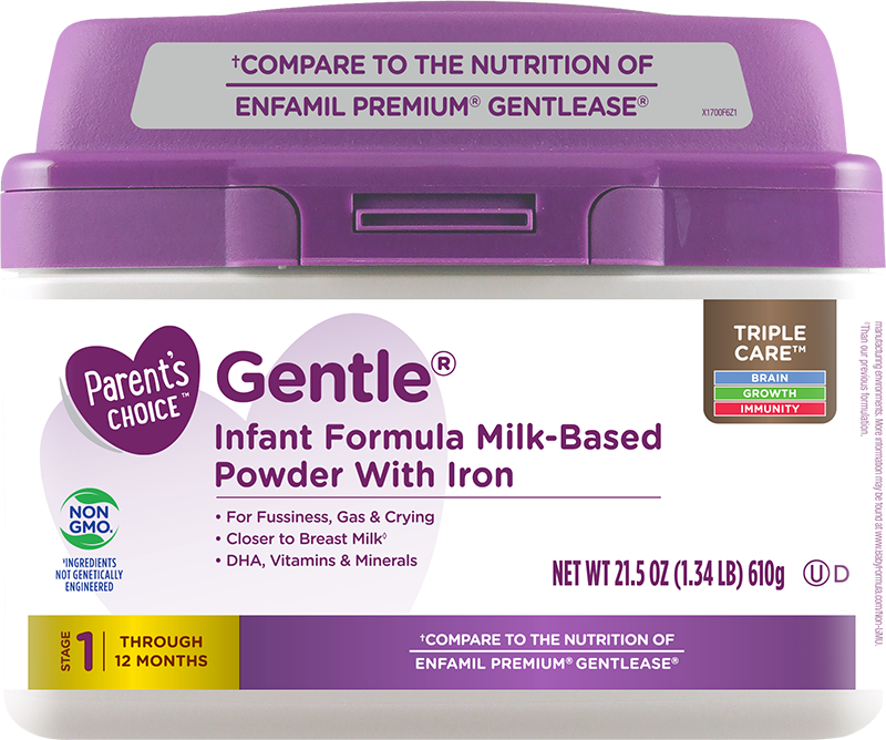 Parent's Choice Gentle Formula