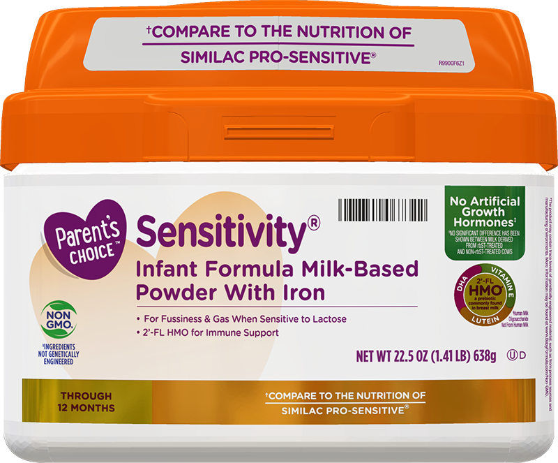 Parent's Choice Sensitivity Formula