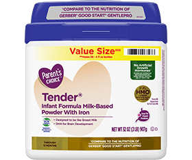 Parent's Choice Tender® Non-GMO Infant Formula
